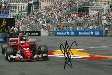 Sebastian Vettel Hand Signed Scuderia Ferrari F1 12x8 Photo 2018 1.