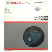 Bosch HARD Sanding Pad 150mm Rubber Base Plate PEX 15 420 GEX 150 AC 2608601053