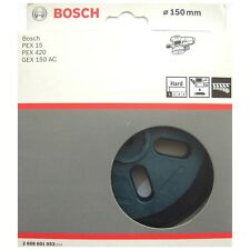 Bosch HARD Backing Sanding Pad Rubber Plate PEX 15 420 GEX 150 AC 2608601053