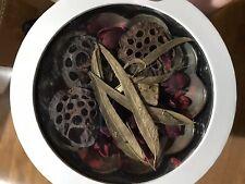 Pottery Barn Chocolate Truffle Potpourri NEW Retired Scent