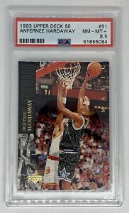 1993-94 UD Special Edition Anfernee Penny Hardaway #51 Rookie PSA 8.5 NR Mint +