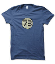 T-Shirt Maglietta  73 Sheldon Cooper Ispirata Big Bang Theory Vintage Uomo IB
