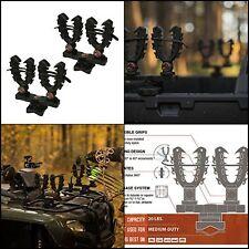 Rhino Grip XL Double Rack Mount Rifle Gun Tool Shovels Holder UTV ATV Hunting