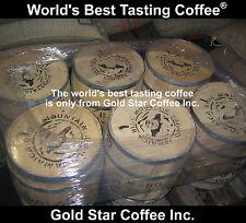 10 lb Pure GREEN Coffee Bean Combo 5 lb Jamaica Blue Mountain 5 lb Hawaii Kona
