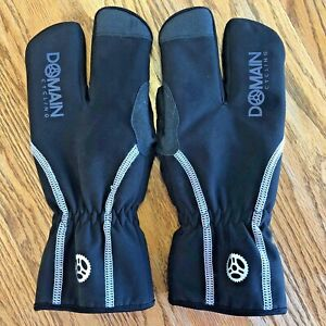 Men's Lobster Cycling Gloves (Split Finger) Small - Domain Cycling - Fast Ship!