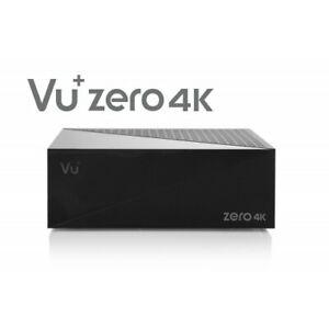 VU+ Zero 4K DVB-S2X Multistream Tuner Linux Enigma 2 Receiver UHD 2160p ;