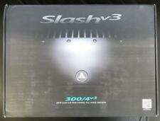 JL Audio Slash V3 300/4v3 4 Channel Car Amplifier 300 WATTS Full Range Class A/B