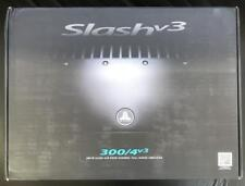 JL Audio Slashv3 300/4v3 4 Channel Car Amplifier 300 WATTS Full Range Class A/B