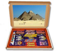 Pyramids Egypt Tomb Desert 24 Bar Cadbury Chocolate Hamper Personalised Gift Box