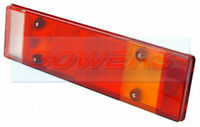 REAR COMBINATION TAIL LIGHT LAMP LENS FOR LORRY TRUCK TRAILER CARAVAN L/H OR R/H