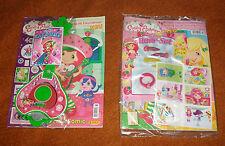 2012 Strawberry Shortcake German Comics w/ guitar toy sticker album NEW & SEALED