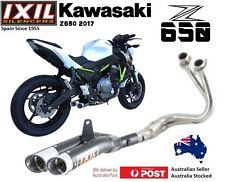 Kawasaki Er6 N 12-16 IXIL L3x Black Full System Exhaust - Joshowarjoshu