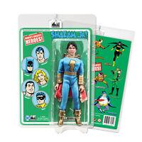 DC Comics Shazam Jr. [Blue/Gold] 8 inch Action Figure on Retro Card