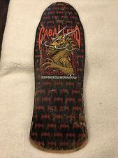 Powell Peralta Steve Caballero Mini Vintage Skateboard Bones Brigade Member