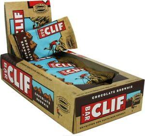 Clif Natural Energy Bar by Clif Bars, 12 bars Chocolate Brownie