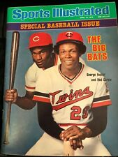 Rod Carew/George Foster - Sports Illustrated 1978 - MINT - NO LABEL