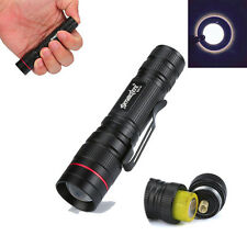3500LM Mini 3 Modes Zoomable Led Flashlight Tatical Torch For Hunting Climping
