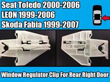 Window Regulator Clip For Seat Toledo 00-06 Skoda Fabia 99-07 Rear Right Door
