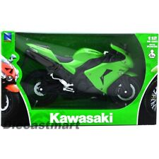 NEWRAY 1:12 2006 KAWASAKI NINJA ZX-10R NEW DIECAST MODEL MOTORCYCLE GREEN