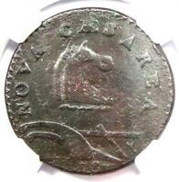 1787 New Jersey Colonial Coin (Plurirus Error Variety) - Certified NGC XF Detail