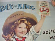 Borax Poster Vintage Reprint 20 Mule Team Advertising Image 1960s