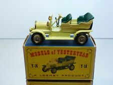 LESNEY MODELS OF YESTERYEAR Y16 Y-16 SPIJKER 1904 - YELLOW 1:45 - GOOD IN BOX