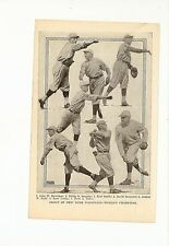 Giants 1921 Team Picture Dave Bancroft Ross Youngs Art Nehf Phil Douglas #A