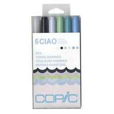 Copic Ciao Marker 6 Color Set Sea