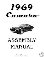 1969 Camaro Assembly Manual 69 with BONUS