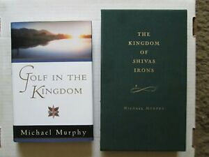 A pair of golf hardcovers by Michael Murphy