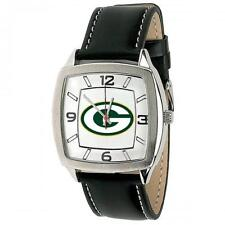 Green Bay Packers Watch Gametime Retro Series NIB Unisex Leather Band