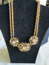 Kenneth Jay Lane for Avon**REGAL RICHES COLLECTION NECKLACE** **NIB**Signed KJL