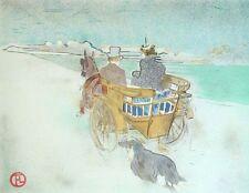 Henri de Toulouse Lautrec Carriage Dog Europe Fantastic Museum Lithograph