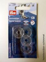 PRYM Nähmaschinenspulen Zentralspulen Kunststoff transparent CB-Spulen 611322