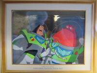 Disney Pixar Hand Painted Production Animation Cel Toy Story Buzz Lightyear COA