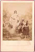 CAB Foto Kunstbild R. Beyschlag / Das Mädchen aus der Fremde - 1870er