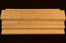 "Giant 1/6 Scale MESSERSCHMITT ME-410 Laser Cut Short, Plans & Instruction 110""WS"