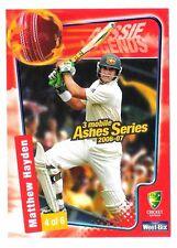 Matthew Hayden Sport Australia Batsman Cricket Trading Card Weet Bix