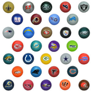 "5"" Inch NFL Inflatable Knobby Ball: PICK YOUR OWN 32 Teams of FANATICISM!!!"