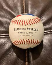 Arizona Diamondbacks official Franchise Awarded Baseball from 3/9/1995 Fotoball