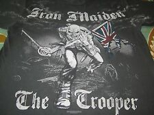 IRON MAIDEN THE TROOPER FANTASTIC ALL OVER PRINT SHIRT XL CLEAN