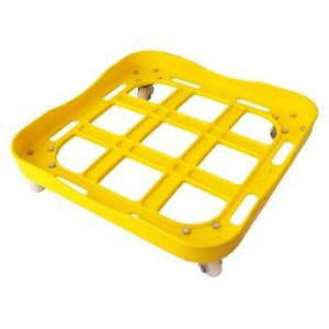 Oil tin Trolley with Wheels - Oil Can Stand- Multicolour(Assorted colour)