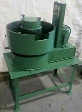 Rotofinish Vibratory Finisher 1 Cubic Foot Capacity 110v Tumbler Deburr