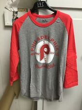 "Philadelphia Phillies Majestic Threads 3/4 Sleeve Mike ""Schmidt"" Shirt NWOT"