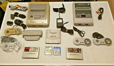 Super Nintendo SNES + Clone + 4 Controller + NTSC/JAP + GameBoy + Zubehörpaket