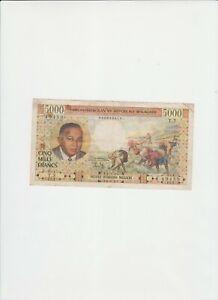 billet de banque de madagascar