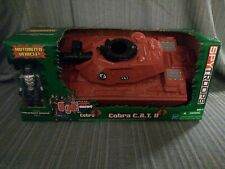 Gi joe hasbro C.A.T. II  new in sealed factory shipping box, K B toys exclusive