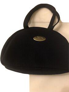 Christian Dior Parfum Make Up Bag Navy Blue Zipper Closing
