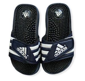 Adidas Performance Kids Adissage Black Slide Sandals Toddler Youth Size 1