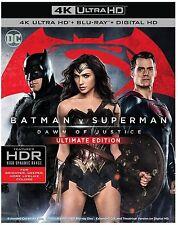 Batman v vs Superman Dawn of Justice DVD Digital Ultimate 4K Ultra HD Blu-ray